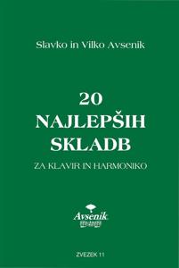 Picture of 20 najlepših skladb / zvezek št. 11