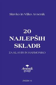 Picture of 20 najlepših skladb / zvezek št. 12