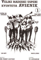 Slika Veliki radijski uspehi kvinteta Avsenik št. 01