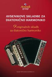 Slika Avsenikove skladbe za diatonično harmoniko