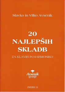 """Bild von Die """"20 Schönsten Musikstücke"""" von S&V Avsenik Nr. 13"""