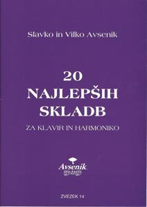 """Bild von Die """"20 Schönsten Musikstücke"""" von S&V Avsenik Nr. 14"""