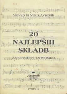 Picture of 20 najlepših skladb / zvezek št. 18