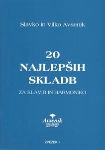 Picture of 20 najlepših skladb / zvezek št. 1