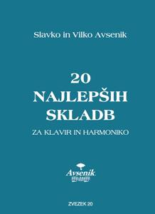 Picture of 20 najlepših skladb / zvezek št. 20