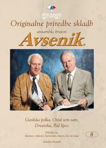 Picture of Originalne priredbe skladb Ansambla bratov Avsenik, mapa št. 08