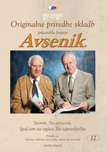 Picture of Original arr. of songs by the Avsenik Brothers Ensemble / Folder Nr. 12