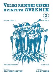 Bild von Die Größten Radio-Erfolge Quintetts Avsenik Nr. 3