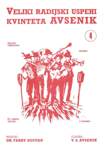 Picture of Big radio hits of the Avsenik Quintet nr. 4