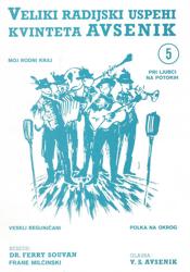 Bild von Die Größten Radio-Erfolge Quintetts Avsenik Nr. 5