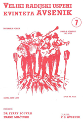 Slika Veliki radijski uspehi kvinteta Avsenik št. 07