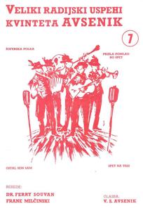Picture of Big radio hits of the Avsenik Quintet nr. 7