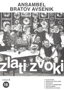 Bild von Die Größten Radio-Erfolge Quintetts Avsenik Nr. 18