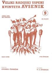 Slika Veliki radijski uspehi kvinteta Avsenik št. 09