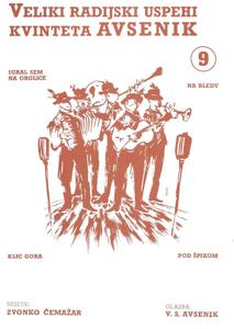 Picture of Big radio hits of the Avsenik Quintet nr. 9