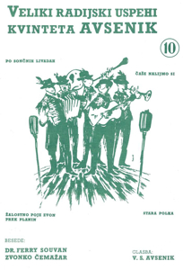 Picture of Big radio hits of the Avsenik Quintet nr. 10