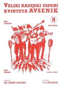 Picture of Big radio hits of the Avsenik Quintet nr. 14