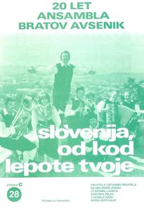 Picture of Veliki radijski uspehi kvinteta Avsenik št. 28