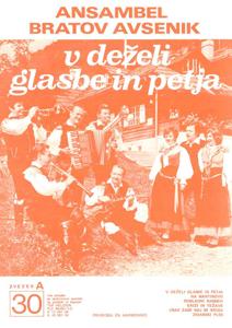 Bild von Die Größten Radio-Erfolge Quintetts Avsenik Nr. 30