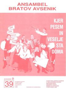 Bild von Die Größten Radio-Erfolge Quintetts Avsenik Nr. 39