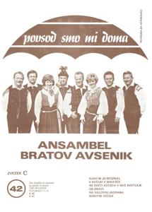 Bild von Die Größten Radio-Erfolge Quintetts Avsenik Nr. 42