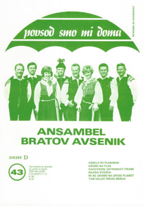 Bild von Die Größten Radio-Erfolge Quintetts Avsenik Nr. 43