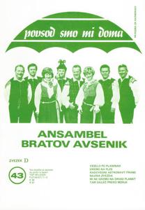 Picture of Big radio hits of the Avsenik Quintet nr.43