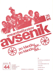Picture of Big radio hits of the Avsenik Quintet nr.44