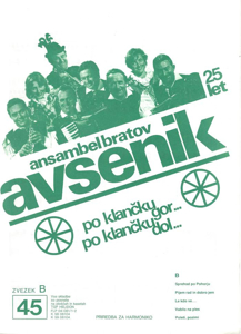 Picture of Big radio hits of the Avsenik Quintet nr.45