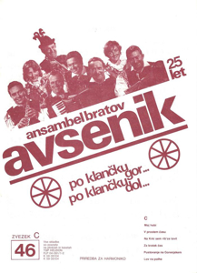 Picture of Big radio hits of the Avsenik Quintet nr.46