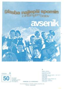 Bild von Die Größten Radio-Erfolge Quintetts Avsenik Nr. 50