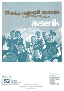 Picture of Big radio hits of the Avsenik Quintet nr.52