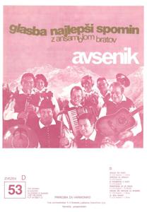 Picture of Big radio hits of the Avsenik Quintet nr.53