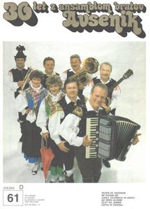 Picture of Big radio hits of the Avsenik Quintet nr.61