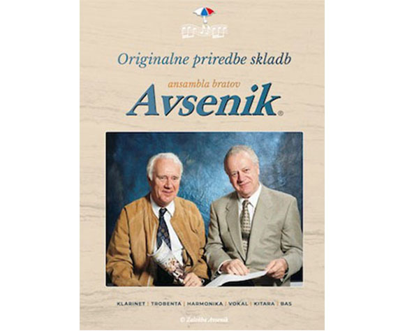 The original composition of songs by Avsenik Ensemble now available in electronic form
