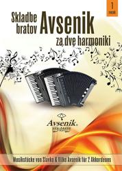 Slika Skladbe bratov Avsenik (2 harm.)