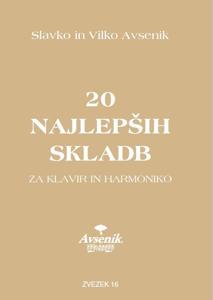 Picture of 20 najlepših skladb / zvezek št. 16