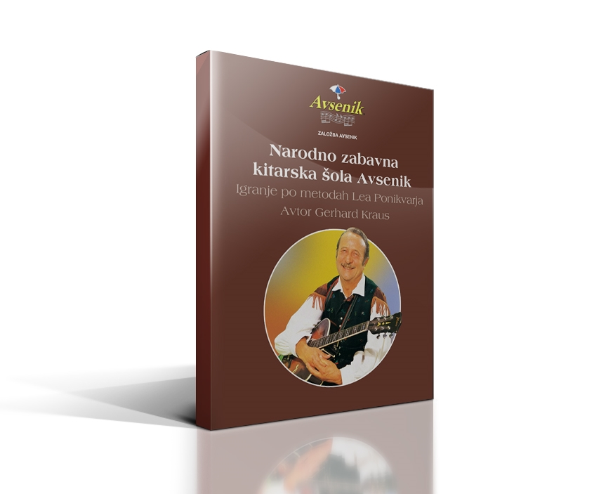 Picture of Guitar playing methods of Leo Ponikvar - Slovenian version