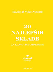 """Bild von Die """"20 Schönsten Musikstücke"""" von S&V Avsenik Nr. 15"""
