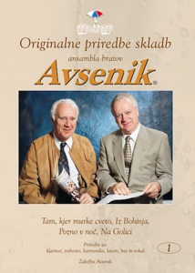 Picture of Original arr. of songs by the Avsenik Brothers Ensemble / Folder nr. 01