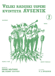 Picture of  Big Radio Hits of the Avsenik Quintet No. 02