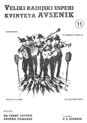 Picture of Big Radio Hits of the Avsenik Quintet No. 11