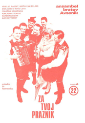 Picture of Big Radio Hits of the Avsenik Quintet No.  22