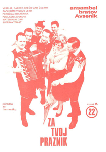 Picture of Big radio hits of the Avsenik Quintet nr.22