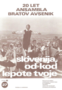 Picture of Big Radio Hits of the Avsenik Quintet No. 27