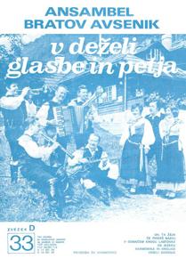 Bild von Die Größten Radio-Erfolge Quintetts Avsenik Nr. 33