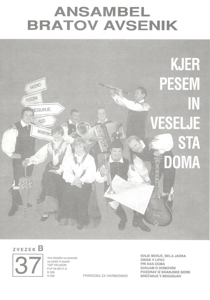 Picture of Big Radio Hits of the Avsenik Quintet No.  37