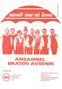 Picture of Big Radio Hits of the Avsenik Quintet No. 40