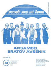 Picture of Big radio hits of the Avsenik Quintet nr.41