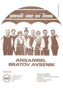 Picture of Big Radio Hits of the Avsenik Quintet No.  42